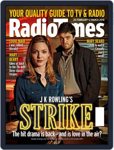 Radio Times February 24th, 2018 Digital Back Issue Cover