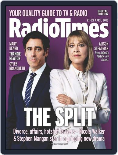 Radio Times April 21st, 2018 Digital Back Issue Cover
