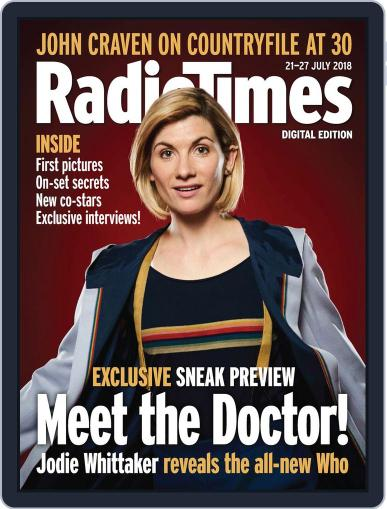 Radio Times July 21st, 2018 Digital Back Issue Cover