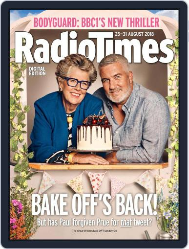 Radio Times August 25th, 2018 Digital Back Issue Cover