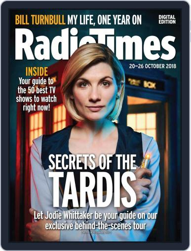 Radio Times October 20th, 2018 Digital Back Issue Cover