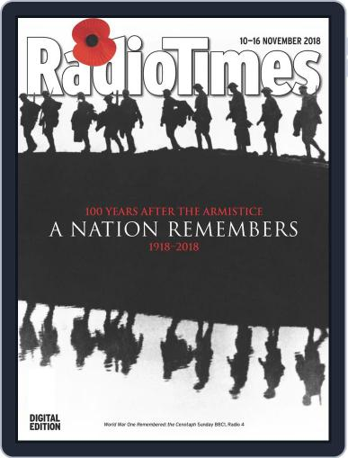 Radio Times November 10th, 2018 Digital Back Issue Cover
