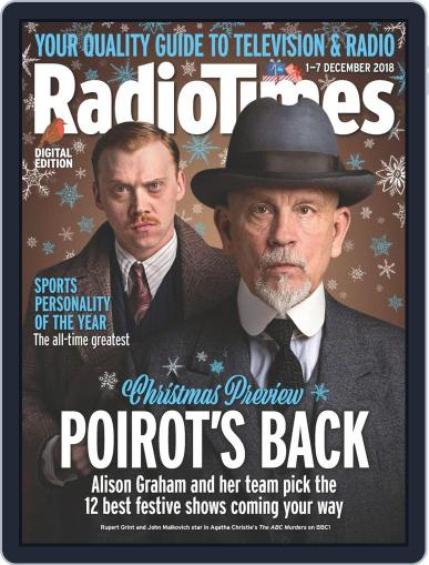 Radio Times December 1st, 2018 Digital Back Issue Cover