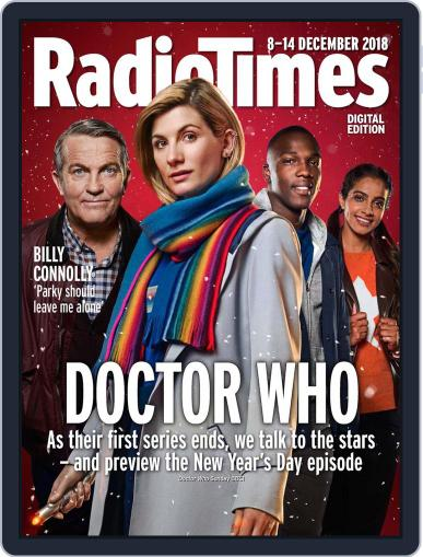 Radio Times December 8th, 2018 Digital Back Issue Cover