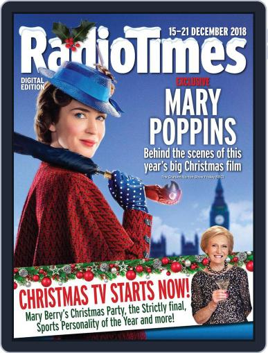 Radio Times December 15th, 2018 Digital Back Issue Cover