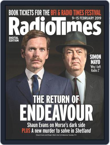 Radio Times February 9th, 2019 Digital Back Issue Cover