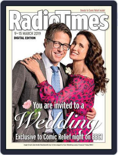 Radio Times March 9th, 2019 Digital Back Issue Cover