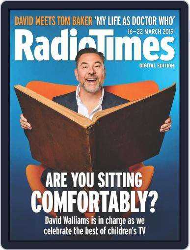 Radio Times March 16th, 2019 Digital Back Issue Cover