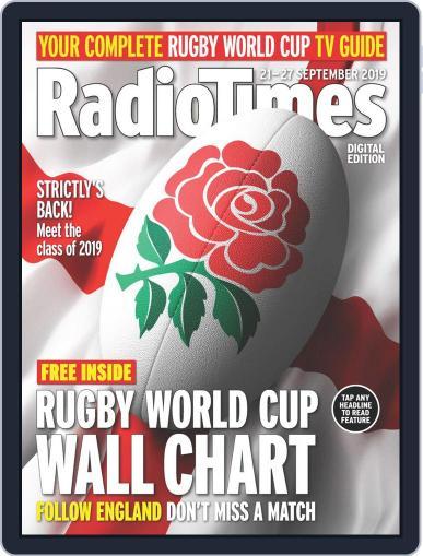 Radio Times September 21st, 2019 Digital Back Issue Cover