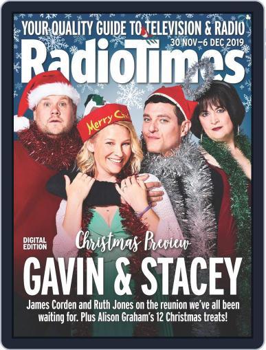 Radio Times November 30th, 2019 Digital Back Issue Cover