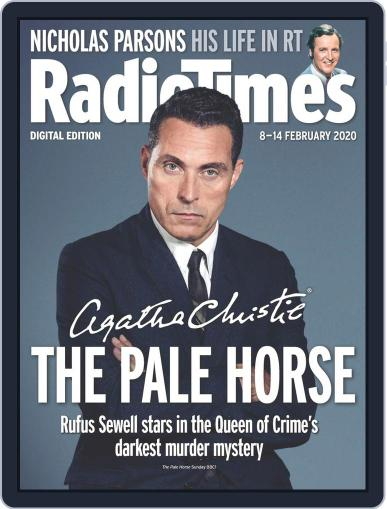 Radio Times February 8th, 2020 Digital Back Issue Cover