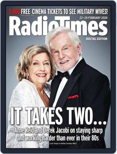 Radio Times February 22nd, 2020 Digital Back Issue Cover