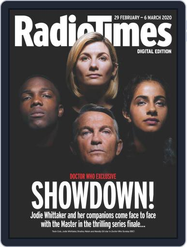 Radio Times February 29th, 2020 Digital Back Issue Cover