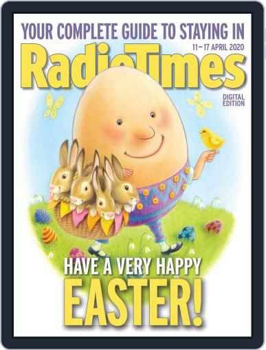 Radio Times April 11th, 2020 Digital Back Issue Cover