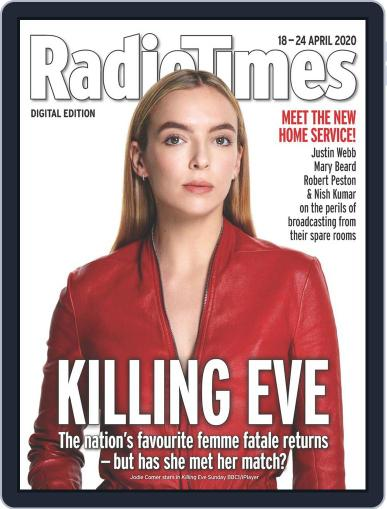 Radio Times April 18th, 2020 Digital Back Issue Cover