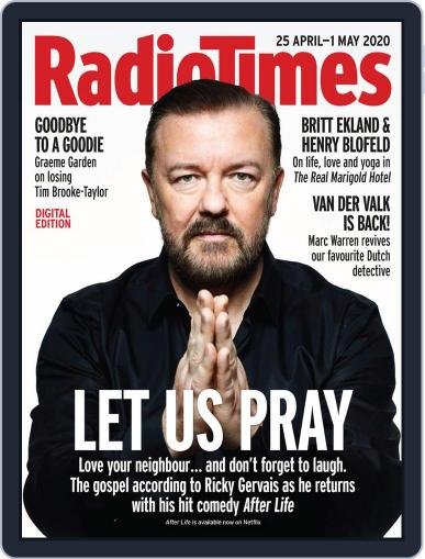 Radio Times April 25th, 2020 Digital Back Issue Cover