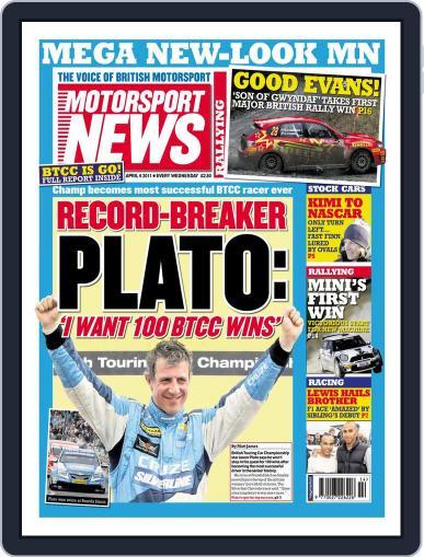 Motorsport News April 5th, 2011 Digital Back Issue Cover