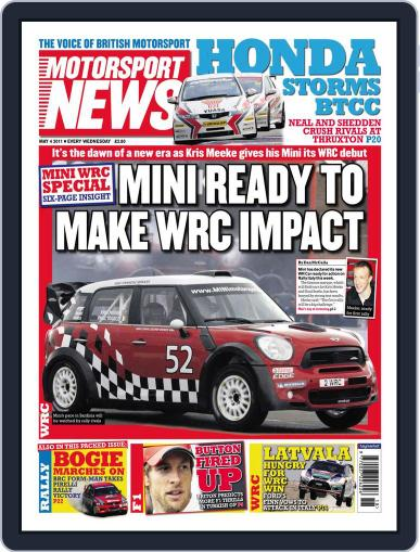Motorsport News May 3rd, 2011 Digital Back Issue Cover