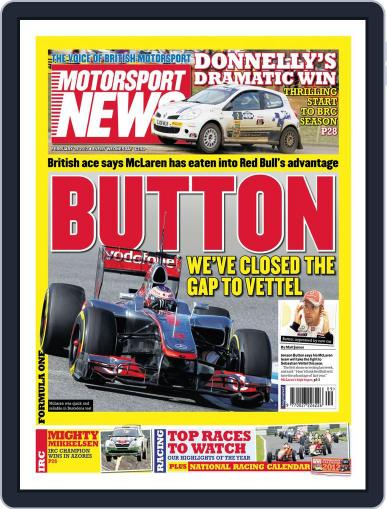 Motorsport News February 29th, 2012 Digital Back Issue Cover