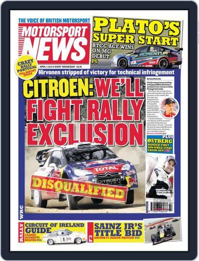 Motorsport News April 3rd, 2012 Digital Back Issue Cover