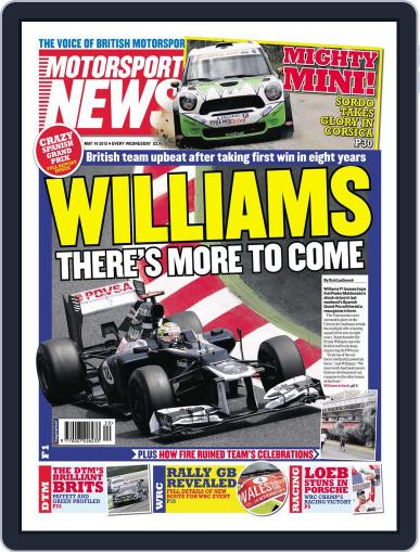 Motorsport News May 15th, 2012 Digital Back Issue Cover