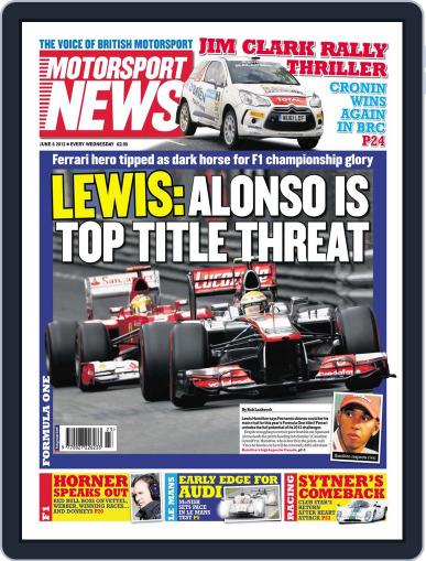 Motorsport News (Digital) June 6th, 2012 Issue Cover