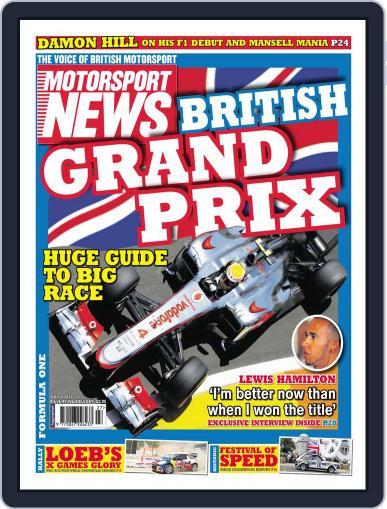 Motorsport News (Digital) July 3rd, 2012 Issue Cover