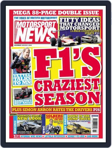 Motorsport News December 18th, 2012 Digital Back Issue Cover
