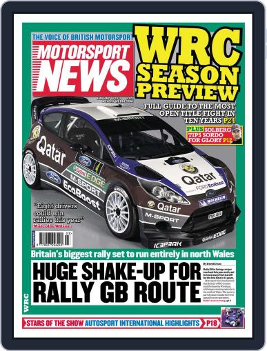 Motorsport News (Digital) January 16th, 2013 Issue Cover