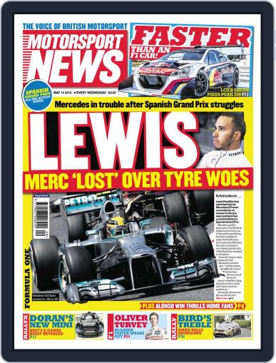 Motorsport News (Digital) May 15th, 2013 Issue Cover