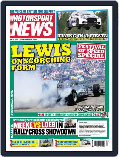 Motorsport News (Digital) July 16th, 2013 Issue Cover
