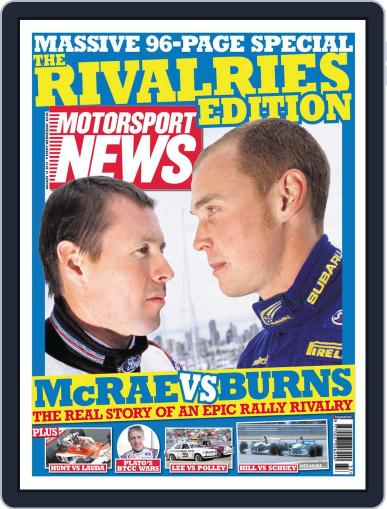 Motorsport News (Digital) August 13th, 2013 Issue Cover