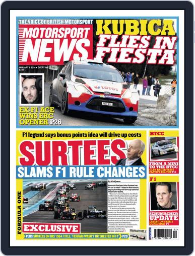 Motorsport News (Digital) January 7th, 2014 Issue Cover