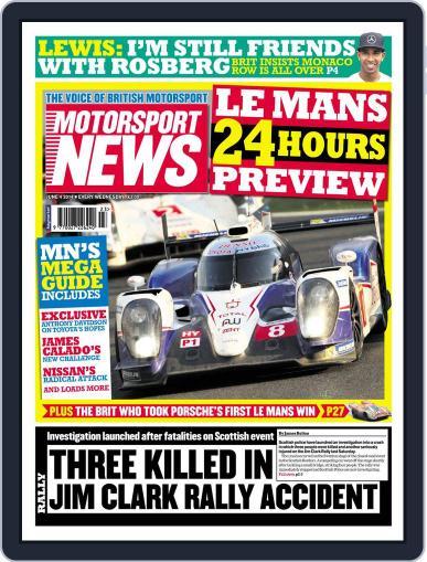 Motorsport News (Digital) June 3rd, 2014 Issue Cover