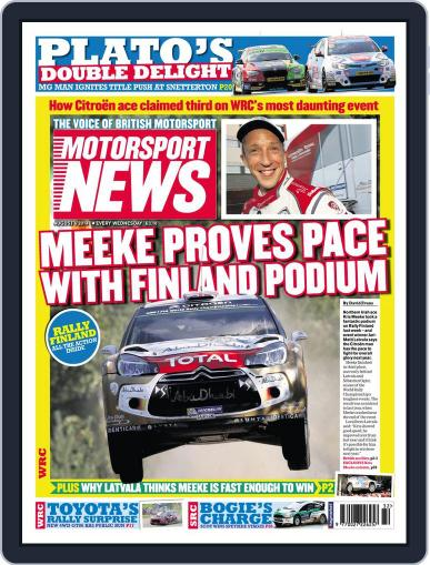 Motorsport News (Digital) August 5th, 2014 Issue Cover