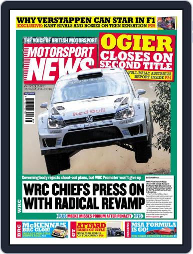 Motorsport News September 16th, 2014 Digital Back Issue Cover