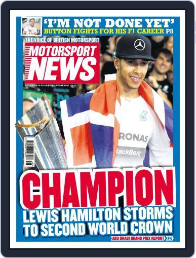 Motorsport News (Digital) November 25th, 2014 Issue Cover