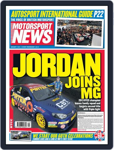 Motorsport News (Digital) January 7th, 2015 Issue Cover