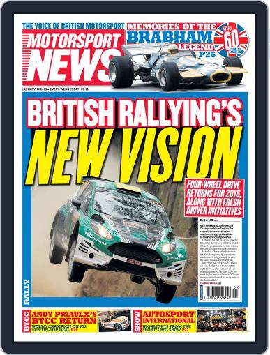 Motorsport News January 14th, 2015 Digital Back Issue Cover
