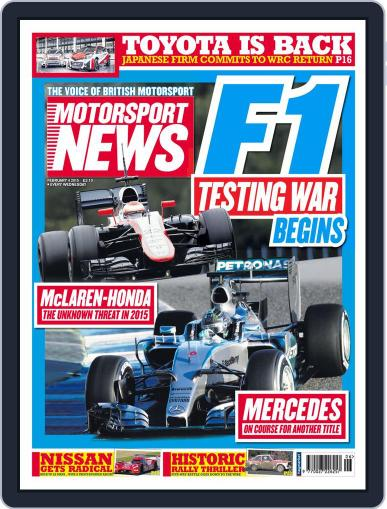 Motorsport News February 4th, 2015 Digital Back Issue Cover