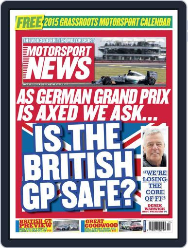 Motorsport News (Digital) March 24th, 2015 Issue Cover