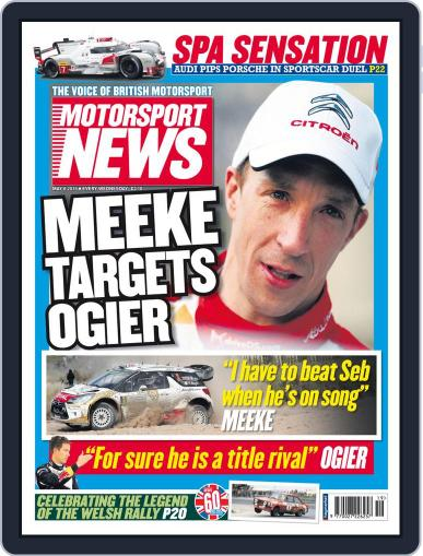 Motorsport News May 6th, 2015 Digital Back Issue Cover