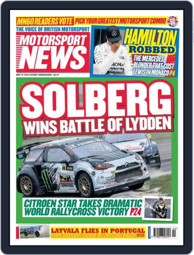 Motorsport News (Digital) May 27th, 2015 Issue Cover