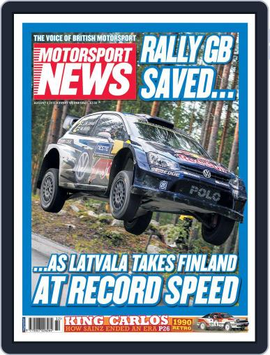 Motorsport News August 5th, 2015 Digital Back Issue Cover