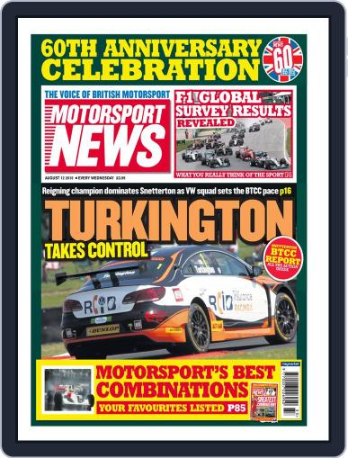 Motorsport News August 12th, 2015 Digital Back Issue Cover