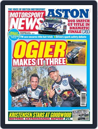 Motorsport News September 15th, 2015 Digital Back Issue Cover