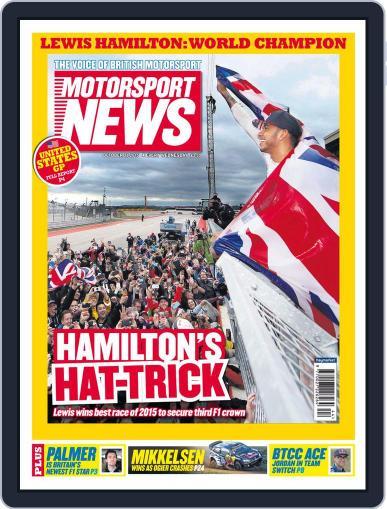 Motorsport News October 28th, 2015 Digital Back Issue Cover