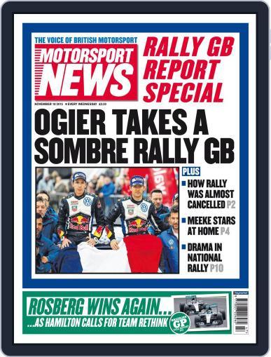 Motorsport News (Digital) November 18th, 2015 Issue Cover