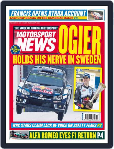 Motorsport News (Digital) February 17th, 2016 Issue Cover