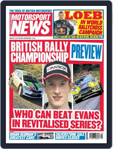 Motorsport News (Digital) March 2nd, 2016 Issue Cover